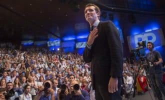 Pablo Casado gekozen tot nieuwe voorzitter Partido Popular