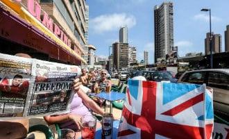 Slechte zomer-start in Benidorm vanwege verlies van Britse toeristen