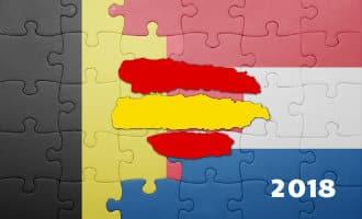 Overzicht van aantal Nederlanders en Belgen die in Spanje wonen (2018)