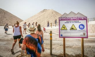 Natuurpark Las Salinas in Torrevieja geopend voor het publiek