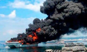 38 gewonden na brand op toeristenboot voor de kust van Galicië