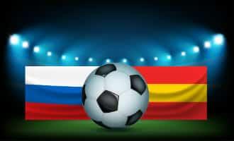 WK-2018: Achtste finales Spanje tegen Rusland