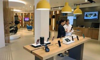 Caixabank opent winkel in Málaga