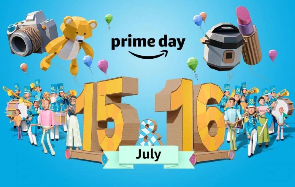 Meer dan één miljoen aanbiedingen op Amazon Prime Day 15/16 juli