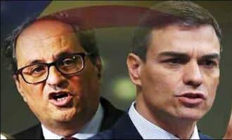 Bijeenkomst Spaanse premier en Catalaanse regiopremier