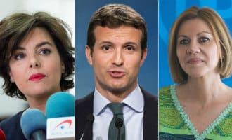 Wie gaat Rajoy opvolgen als partijleider bij de Partido Popular (PP)