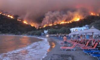 Griekenland heeft geen hulp van Spanje nodig bij bestrijding bosbranden