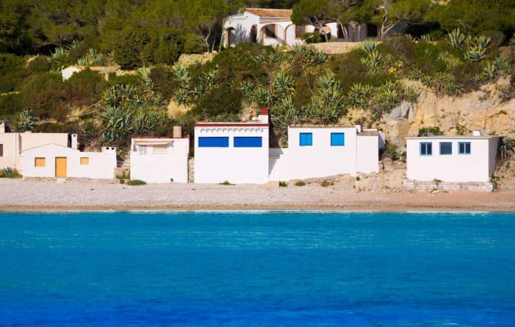 De Playa del Portitxol in Javea is een succes op Instagram