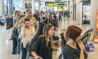 Veel vertragingen en annuleringen vliegveld Mallorca