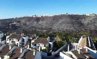 Natuurbrand die zorgde voor 400 evacuees bij Manilva in Málaga onder controle