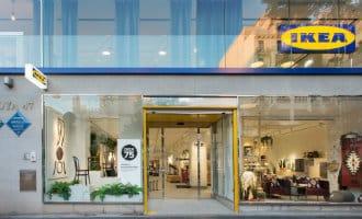 Tweede stadswinkel IKEA in het centrum van Madrid geopend
