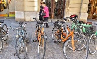 Nieuwe actie tegen het toerisme met Boycot van fietsverhuur bedrijven in Barcelona