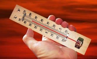 Hoogste temperatuur van Spanje in Elche met 37,3