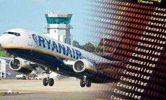 14.000 passagiers de dupe van staking Ryanair