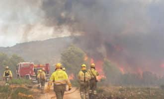 2.500 evacuees vanwege grote bosbrand in Llutxent