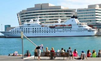 Meer cruiseschip toeristen in Spanje tot nu toe dit jaar