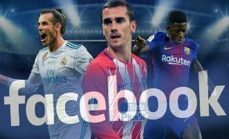 Facebook gaat in Azië de Spaanse voetbalcompetitie gratis uitzenden