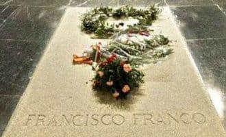 Spaanse regering wil de resten van oud dictator Franco verplaatsen