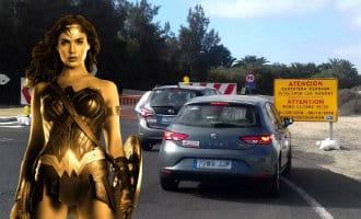 Duinen Fuerteventura alleen voor Wonder Woman