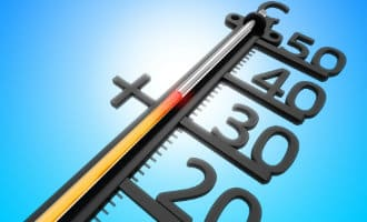 Hoogste temperaturen tijdens hittegolf in Spanje