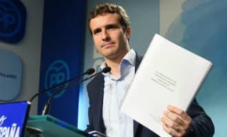 Juridische problemen voor nieuwe PP-leider Pablo Casado vanwege master