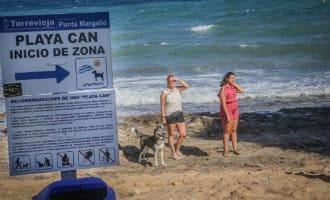 Hondenstranden in Torrevieja mogen blijven van een rechter