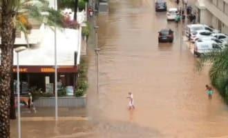 Catalonië getroffen door enorme regenval met veel wateroverlast tot gevolg