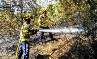 Bosbrand Costa Brava snel onder controle