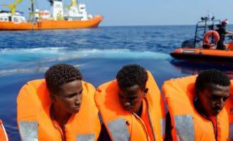 Spanje accepteert met 5 andere EU landen migranten