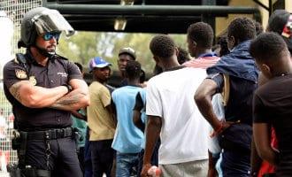 Spanje stuurt 117 migranten terug naar Marokko