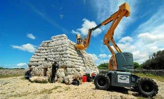 Eilandraad op Menorca plaatst camera's bij oudste monument van Europa
