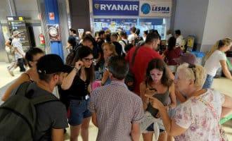 Gezamelijke klacht vanwege stakingen Ryanair