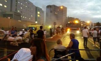Evacuatie ziekenhuis op Tenerife na brand