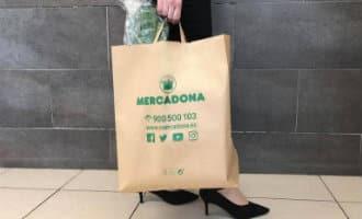 Mercadona gaat in 2019 papieren tassen aanbieden in alle supermarkten in Spanje