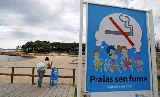 """""""Playas sin humo"""" ofwel roken niet toegestaan op het strand in Spanje"""