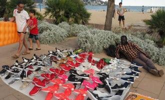 Top manta verkoper in Cambrils veroordeelt
