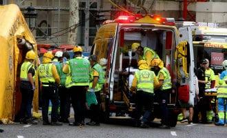 Een dode en elf gewonden bij werkzaamheden hotel Ritz in Madrid