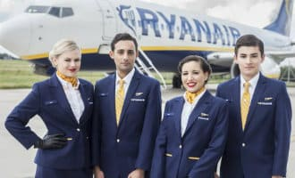 Staking cabinepersoneel Ryanair op 28 september