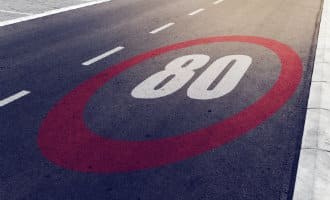 Mogelijk van 100 naar 80 km/u op Spaanse wegen
