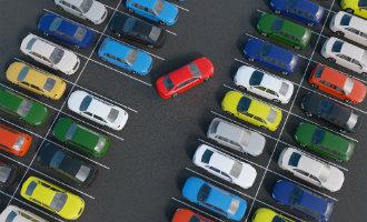 Infographic over de Spaanse parkeerregels
