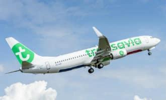 Transavia vliegtuig moet in de lucht blijven omdat vliegveld Reus nog niet open was