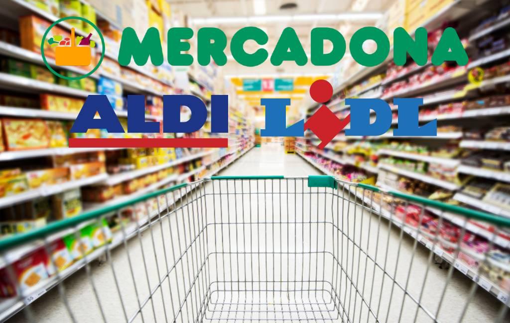 Supermarkten Mercadona vs. Lidl vs. Aldi in Spanje