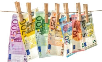 Minder vals geld in omloop in Spanje
