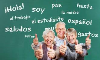 Spaans leren voor 50+ en 60+ senioren in Spanje