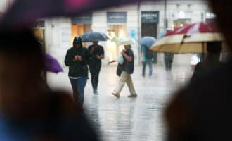 Zomer in Spanje eindigt met kou, storm en regen tijdens de DANA