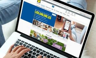 Online Lidl winkel voor bijna heel Spanje beschikbaar