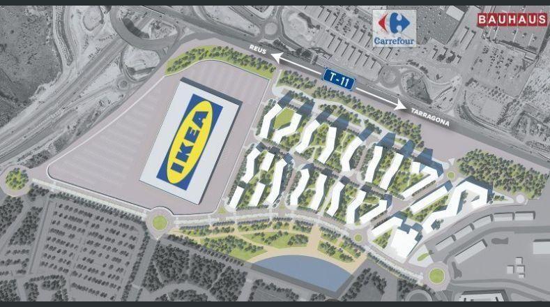 Mogelijke desinteresse van de IKEA voor een winkel in Tarragona