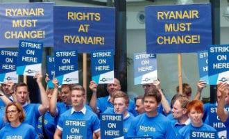 Ryanair heeft deze week opnieuw te maken met een staking op 28 september