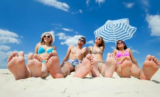 Aantal buitenlandse toeristen in Spanje in juli gedaald