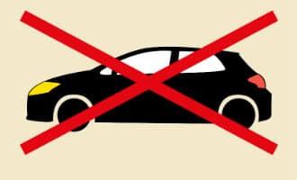 Niet veel te merken van de autovrije dag in Spanje